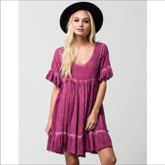 60f9a4cac2c07 ... Pink Ruffle Babydoll Dress S. NWT. Sea Gypsies.  M_5b9830e5aa8770ebf929a882. M_5b9830e745c8b387a13d8883.  M_5b9830e8de6f624cb0ebc7f2